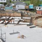 Work is continuing on Otago Polytechnic's new Trades Training Centre, which is expected to be...