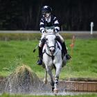 Waihora Pony Club rider Elleanor Bell on Korimako Paper Road at the 49th Springston Trophy on...