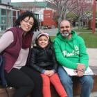 Brazilian couple Clara and Danilo Casaes, pictured with their daughter Heloisa (7), would like to...