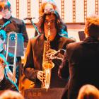Series resumes . . . Dunedin Youth Jazz Orchestra features alto saxophonist Jayden Jesudhass...