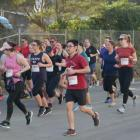 Runners in full flight during the Dunedin Marathon 10km event in 2019. Photo: The Star files
