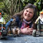 Dunedin artist and animator Kiri Mitchell shows some of her down-to-earth female characters ...