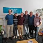 Members of the Game On! team at Catholic Social Services (from left) whanau support worker Allan...