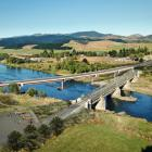 An image of what the new bridge is expected to look like next to the old bridge. Photo: NZTA
