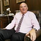 Trevor McIntyre resigned from the board just after the announcement on mandatory vaccines. Photo:...