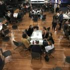 """About 60 people attended the Wao Summit's """"world cafe-style'' session on regenerative tourism at..."""