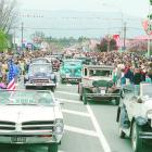 The Central Otago Vintage Car Club parade at the Alexandra Blossom Festival in 1999. PHOTO: ODT...