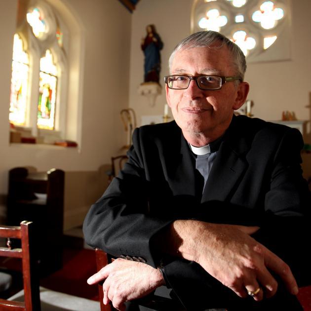 Auckland Bishop Patrick Dunn. Photo: NZ Herald