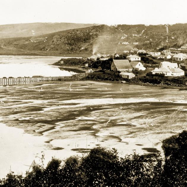 Dunedin in the late 1850s. Photo: ODT files