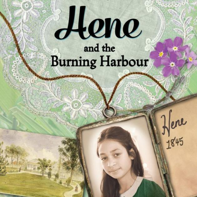HENE AND THE BURNING HARBOUR<br><b>Paula Morris</b><br><i>Mallinson Rendel</i>