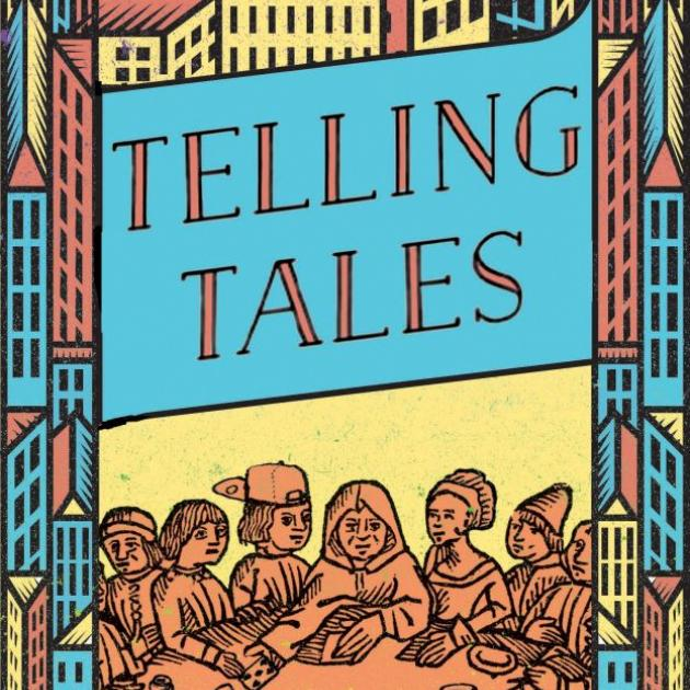 TELLING TALES<br><b>Patience Agbabi</b><br><i>Canongate</i>