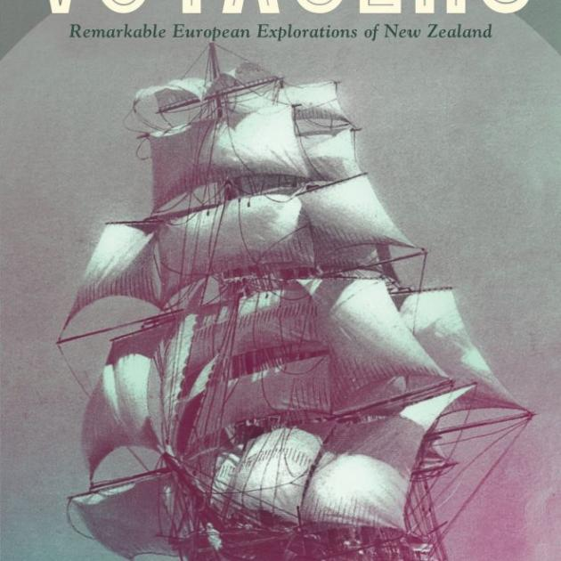 THE VOYAGERS<br>Remarkable European Explorations of New Zealand<br><b>Paul Moon</b><br><i>Penguin</i>