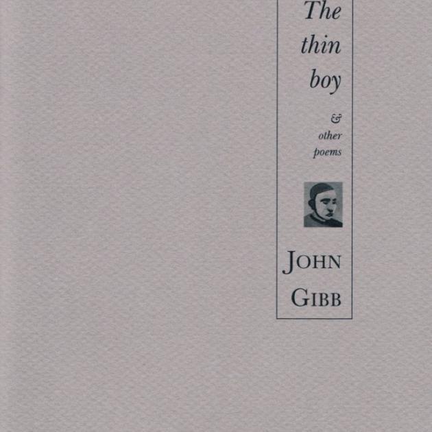 THE THIN BOY<br><b>John Gibb</b><br><i>Cold Hub Press</i>