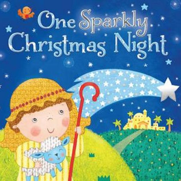 ONE SPARKLY CHRISTMAS NIGHT<br><b>Julia Stone, illustrations Angela Muss</b><br><i>Lion Hudson</i>