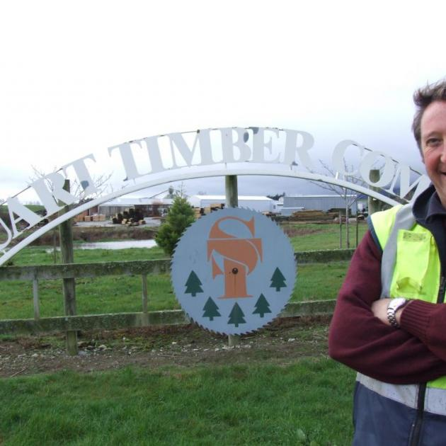 Stuart Timber manager Roger Stuart has been involved in the timber industry since leaving school. Photo by Sally Rae.