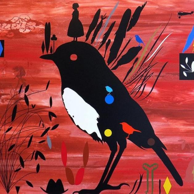 """Toutoutwai — Forest Guardian"", by Chris Heaphy"