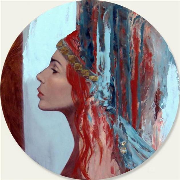 """The goddess II"", by Meredith Marsone"