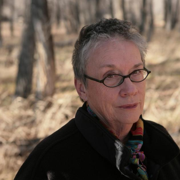 Annie Proulx: always about the environment. PHOTO: GUS POWELL