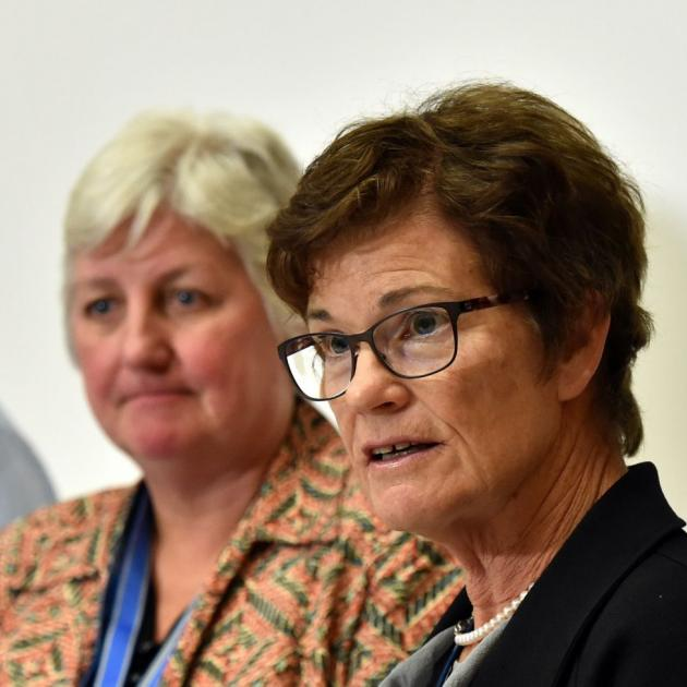 Carole Heatly (left) and Kathy Grant. Photo: ODT