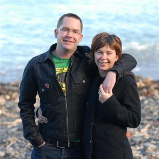 Lee Slater and Sarah Bennett.