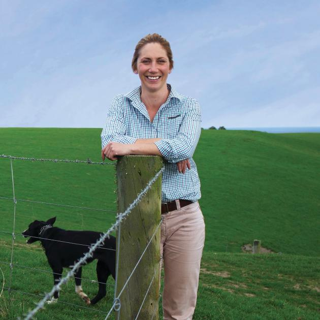 Kate Macgregor now combines farming with her work at Ravensdown. PHOTO:  PENNY CLARK-HALL