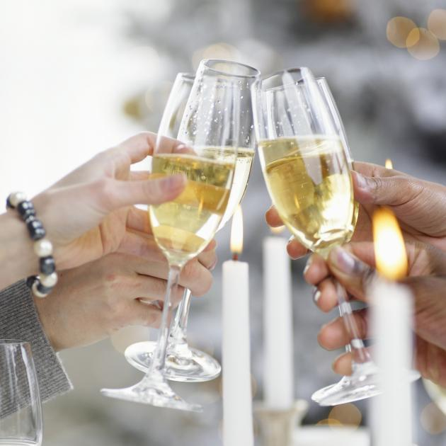 Time to break out the bubbly at Christmas. Photo: Getty Images