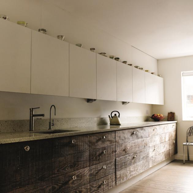 Recycled material has been used to transform a ...