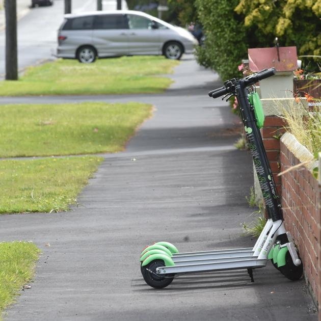 Lime scooters are taking up public footpath space, but as this photo shows, in the background, so...