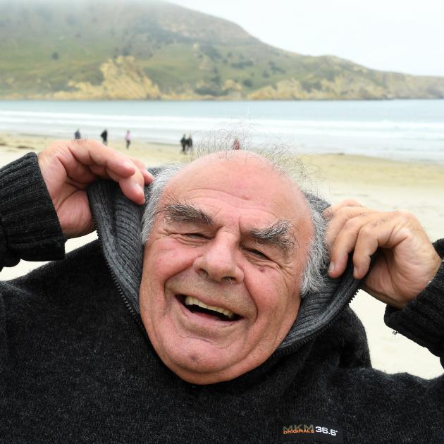 Actor Des Tipa (80), of Waikouaiti, is the new face on a Mainland Cheese commercial in which he...