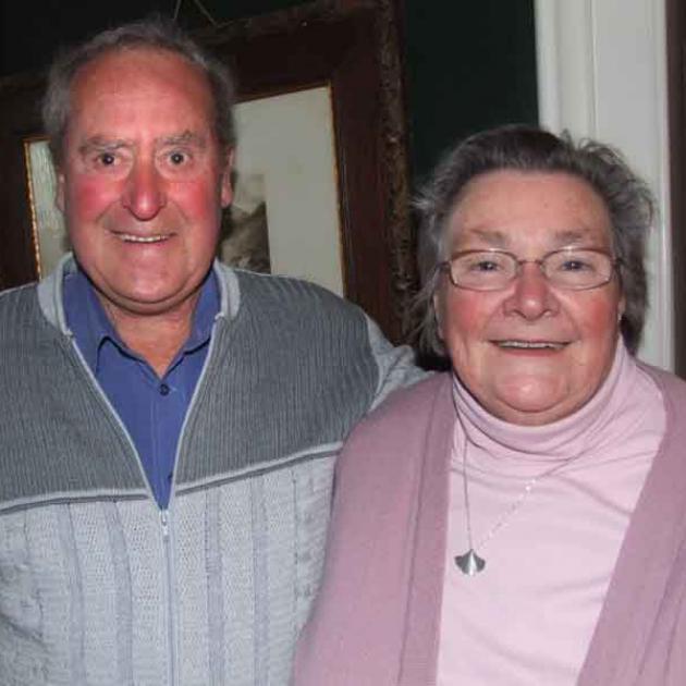 Ritchie and Daphne Hendebourck (Oamaru).