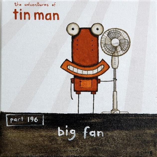 Big Fan by Tony Cribb.