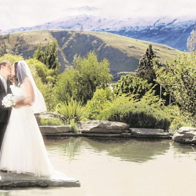 Lisa Gilberd and Robert Whale, who were married at Stoneridge Estate, Lake Hayes last November....