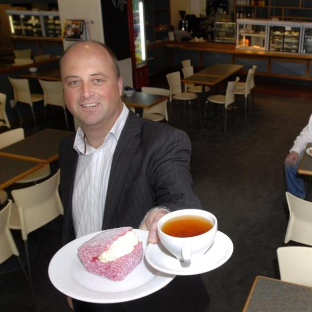 Tip Top Cafe owner Barry Timmings (left) with operations manager Kent Twaites (centre) and chef...