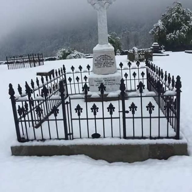 McEntyre grave site - Arrowtown Central Otago
