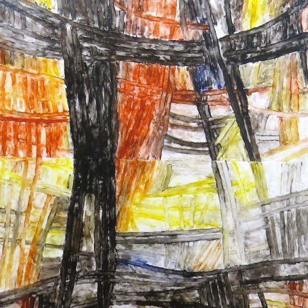 Crosses III, by Jessica Crothall.
