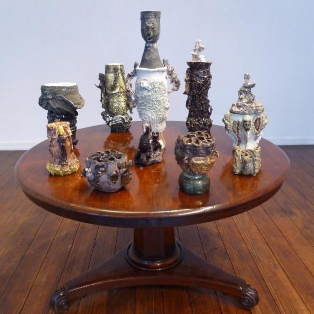 ''Spirit Jars'' by Nichola Shanley.