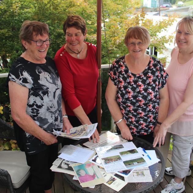 (from left) Raylene Smith, Loretta McSkimming, Judy Houliston and Fern Washington. Photo by...