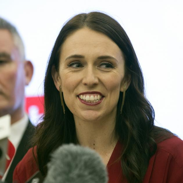 Prime Minister elect Jacinda Ardern during her press conference, Parliament, Wellington. Photo:...