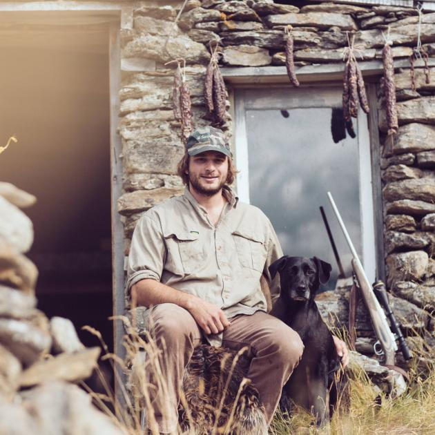 Hunting enthusiast and Gathered Game co-founder Chris Thorn. Photo: Catie Allen Photography