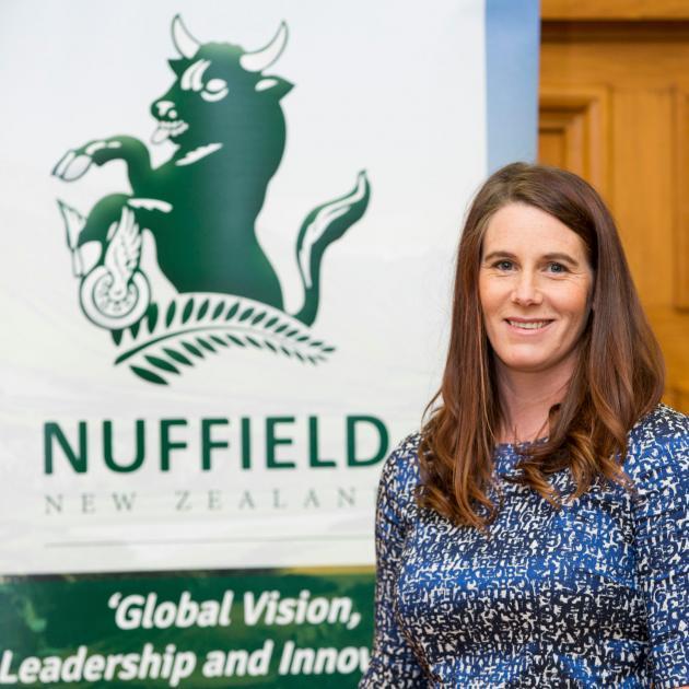 Landpro Ltd executive director Kate Scott, of Bannockburn, was awarded a Nuffield scholarship...