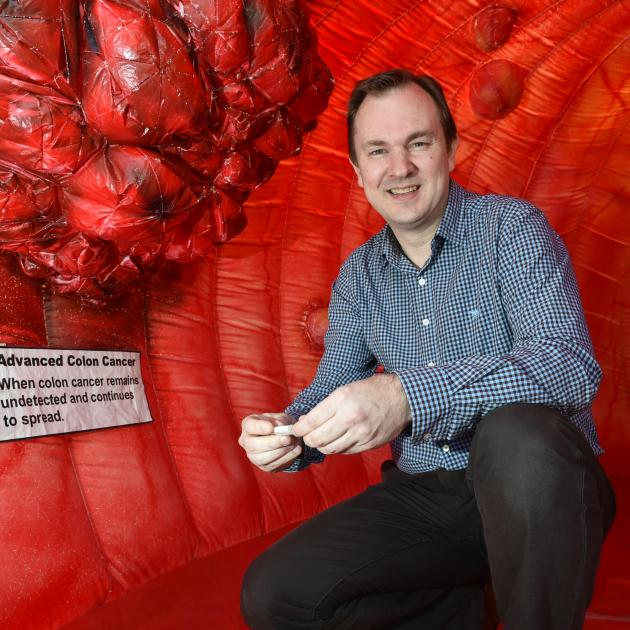 Southern District Health Board clinical leader of the national bowel screening programme, Dr...