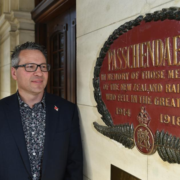 Dunedin Railways chief executive Craig Osborne anticipates tomorrow's special memorial service...