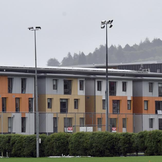 Te Pa Tauira-Otago Polytechnic Student Village. Photo: Peter McIntosh