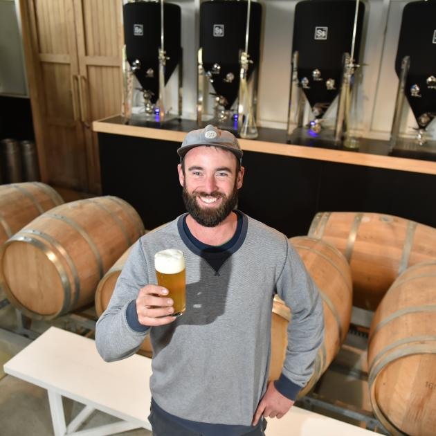 After years of honing his brewing skills at home, Dunedin builder Jono Walker is finally...