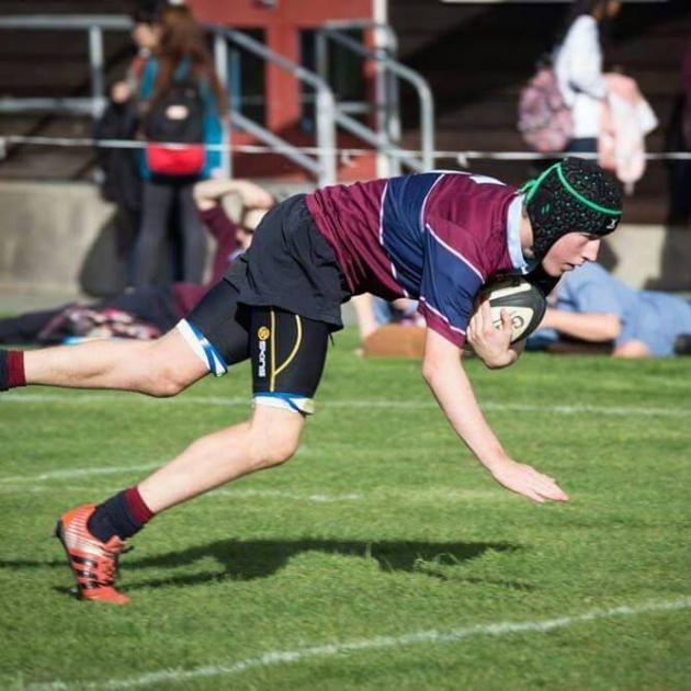 Darfield flanker Haigh Jebson was named Ellesmere senior player of the year on Friday night.