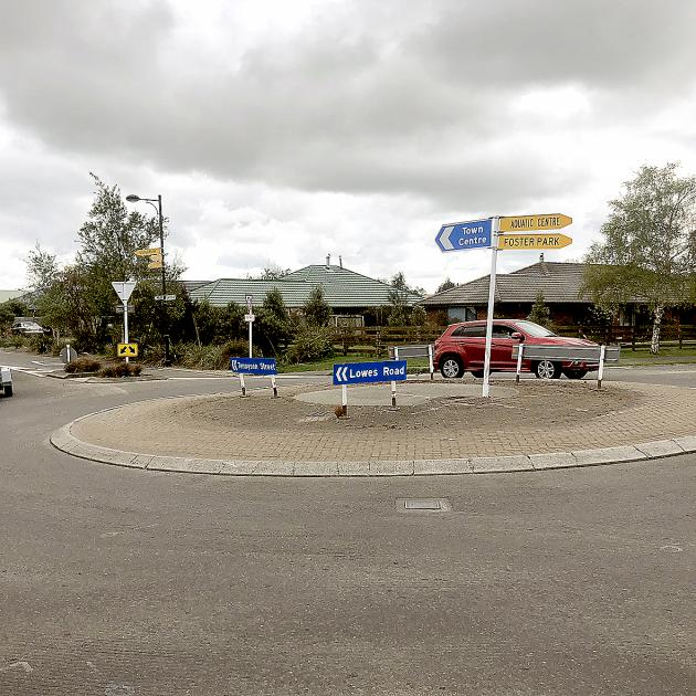 Traffic lights will be installed at the Lowes Rd and Tennyson St intersection as part of a...