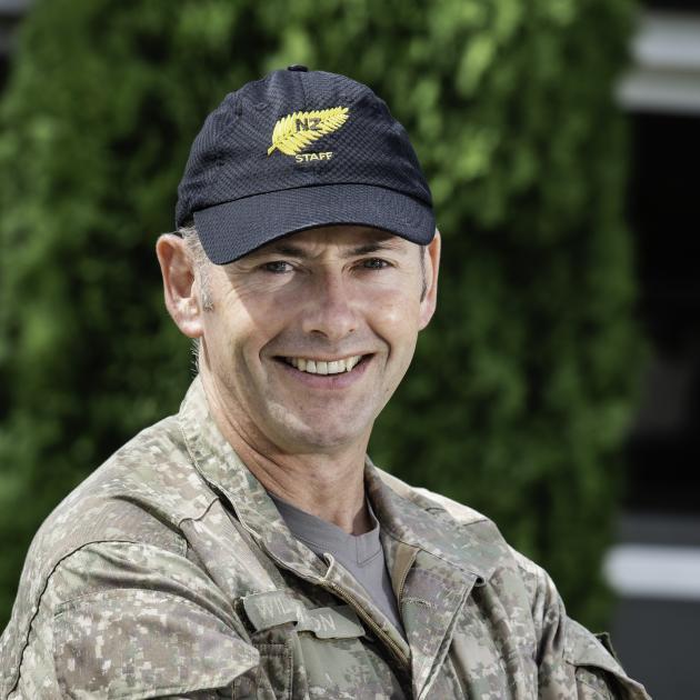 Major Aaron Williamson.  Photo: New Zealand Defence Force