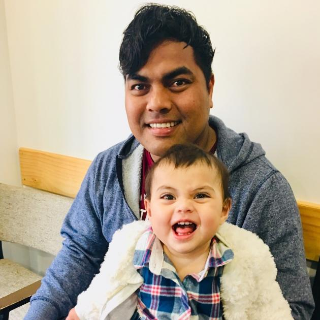 Taua Ritiata and his daughter Leila. Photo: Supplied