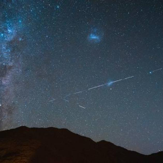The Starlink crossed over the NZ last night. Photo: Ricky Situ