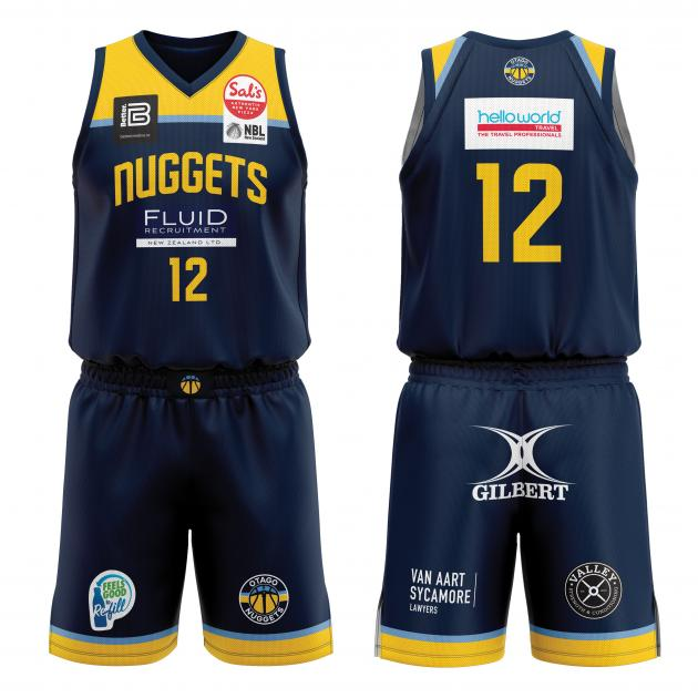 The Otago Nuggets uniform which may or may not be seen next weekend. PHOTOS: SUPPLIED